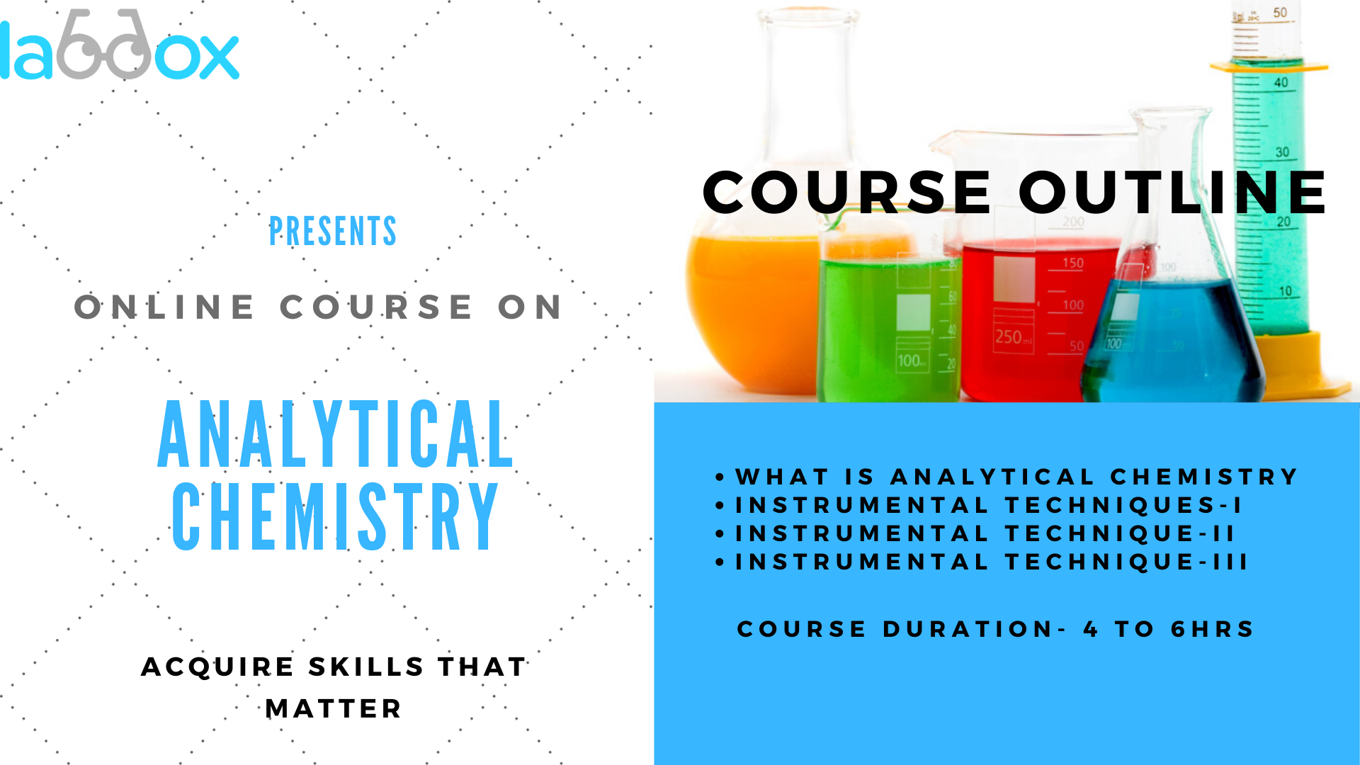 Analytical Chemistry online courses